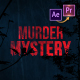 Murder Mystery Suspense Trailer Premiere PRO - VideoHive Item for Sale