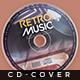 Retro Music - Cd Artwork - GraphicRiver Item for Sale