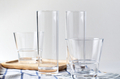 The empty drinking glass on the table - PhotoDune Item for Sale