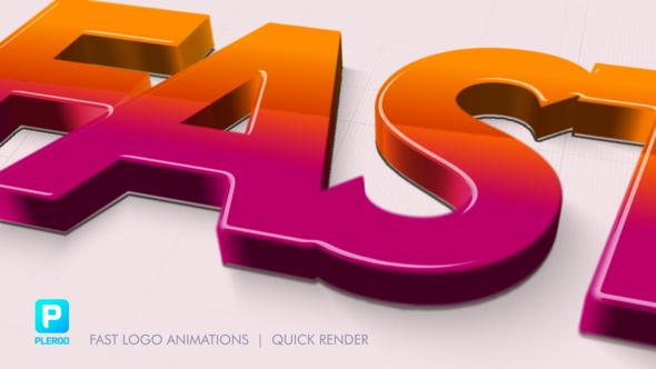 Fast Logo Animations
