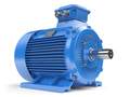 Industrial electric motor isolated on white. - PhotoDune Item for Sale