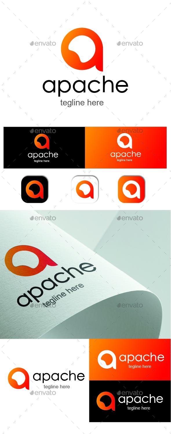 A Letter Logo - Apache