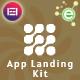 Zamzam - App Landing Elementor Template Kit - ThemeForest Item for Sale
