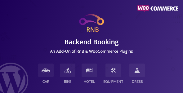 RnB Backend Booking (Add-ons)