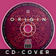 Origin Music - Cd Artwork - GraphicRiver Item for Sale