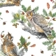 Seamless Autumn Forest Pattern - GraphicRiver Item for Sale