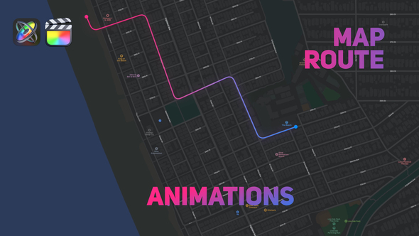Map Route Animations