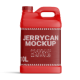 10 Liters 2.5 Gallon Plastic Jerry Can Mockup - GraphicRiver Item for Sale