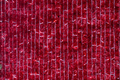 Texture of wall decorated with red garlands and Christmas decorations background - PhotoDune Item for Sale