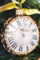 Small clock with jewelry as Christmas tree decoration - PhotoDune Item for Sale