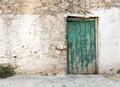 Old green wooden door - PhotoDune Item for Sale
