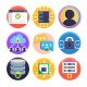 50 Data Protection Icons - GraphicRiver Item for Sale