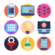 50 Data Science Icons - GraphicRiver Item for Sale