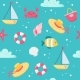 Summer Sea Pattern - GraphicRiver Item for Sale