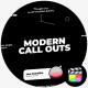 Modern Call Outs - VideoHive Item for Sale