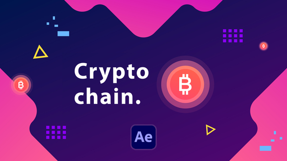 Cryptochain Corporate Slideshow   After Effects