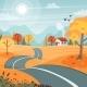 Autumn Road - GraphicRiver Item for Sale