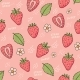 Strawberry Pattern - GraphicRiver Item for Sale