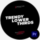 Trendy Lower Thirds MOGRT - VideoHive Item for Sale
