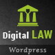 Digital Law   Attorney & Legal Advisor WordPress Theme - ThemeForest Item for Sale