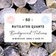 50 Rutilated Quartz Background Textures - 3DOcean Item for Sale
