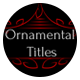 Ornamental Titles // After Effects - VideoHive Item for Sale