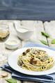 Creamy mushroom spinach pasta - PhotoDune Item for Sale