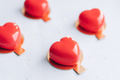 Red heart-shaped cake. Gift for Valentine's Day and Women's Day - PhotoDune Item for Sale