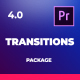 Minimal and Smooth Transitions For Premiere Pro