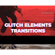Glitch Elements Transitions - VideoHive Item for Sale