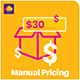 WooCommerce Manual Pricing - Name Your Price Plugin - CodeCanyon Item for Sale