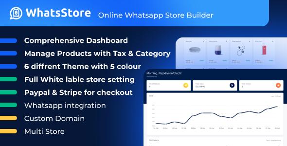 WhatsStore - Online WhatsApp Store Builder