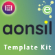 Aonsil - Business & Consulting Elementor Template Kit - ThemeForest Item for Sale