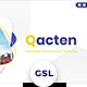 Qacten - Corporate Googleslide Template - GraphicRiver Item for Sale