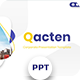 Qacten - Corporate Powerpoint Template - GraphicRiver Item for Sale