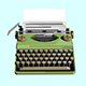 Typewriter - 3DOcean Item for Sale