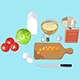 Cooking icons - 3DOcean Item for Sale