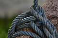 The complexity knot of dirty rope - PhotoDune Item for Sale