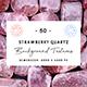50 Strawberry Quartz Background Textures - 3DOcean Item for Sale