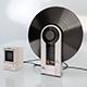 SONY PS-F5 Flamingo & SONY APM-090 Amplifier Powered Monitor Speaker - 3DOcean Item for Sale