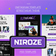 Niroze Streetwear Instagram Template - GraphicRiver Item for Sale