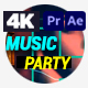 Music Party Night Event - VideoHive Item for Sale