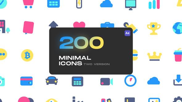 Cute Minimal Icons