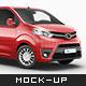 Toyota Proace Van Mockup - GraphicRiver Item for Sale