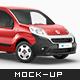 Fiat Fiorino Delivery Car Mockup - GraphicRiver Item for Sale
