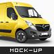 Opel Movano Van Mockup - GraphicRiver Item for Sale