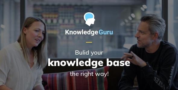 Knowledge Guru - Knowledge Base WordPress Theme