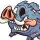 Zombie Boar - GraphicRiver Item for Sale