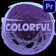 Colorful Titles | Premiere Pro MOGRT