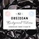 52 Obsidian Background Textures - 3DOcean Item for Sale